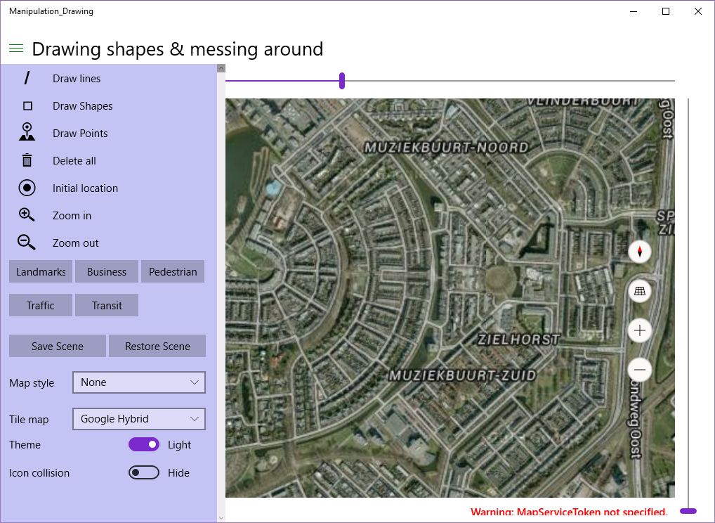 Dotnet By Example Windows Maps Part Using External Maps - Google satellite maps zoom